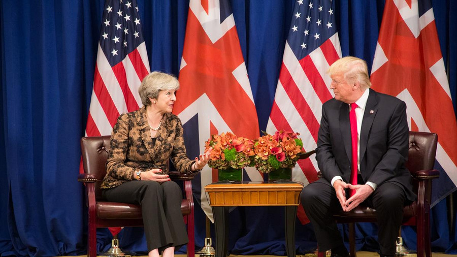 May blasted for refusing to protect the NHS from a post-Brexit trade deal with Trump