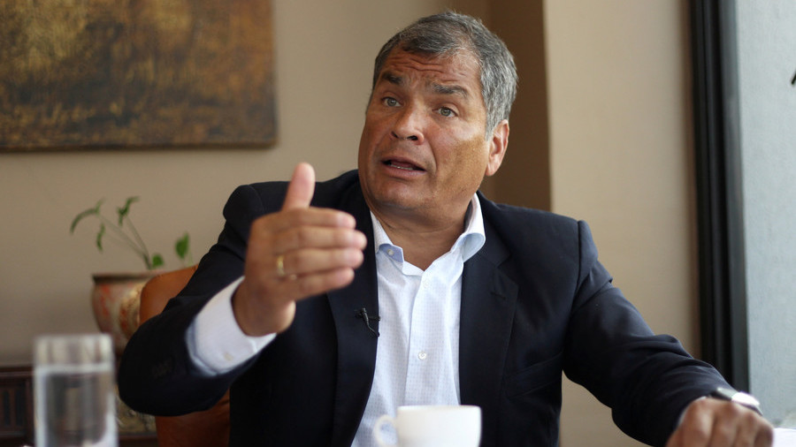 'Telling the vain from the profound': Ex-Ecuadorian president's show to premiere on RT