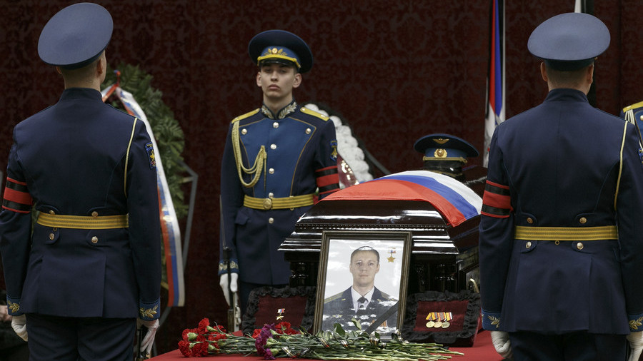 Downed Su-25 jet pilot's body handed over to Russian Federation