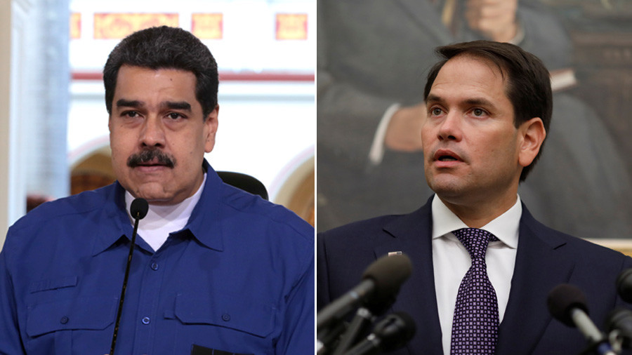 Senator Rubio calls for military coup in Venezuela