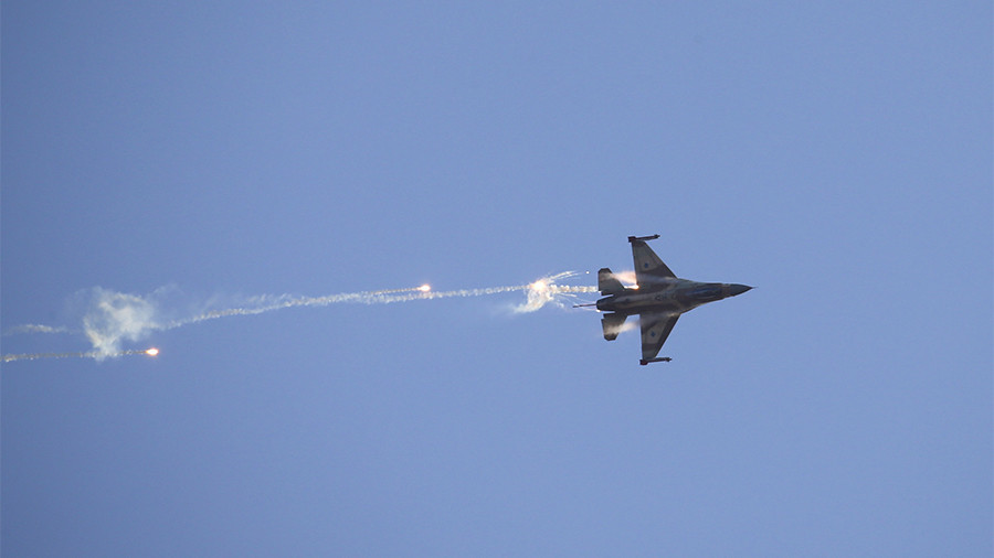 Israel attacks 12 Syrian, Iranian targets in Syria