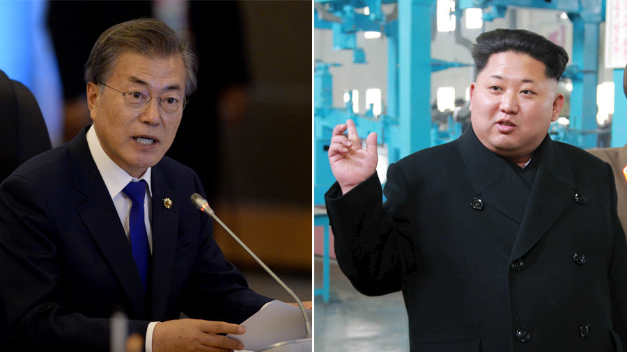 Kim Jong-un invites South's leader Moon to Pyongyang in personal letter delivered by sister