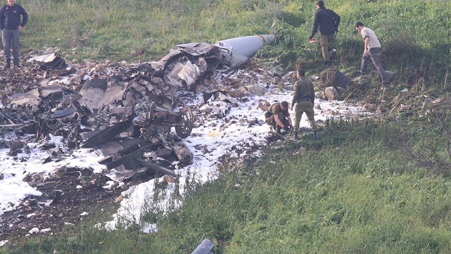 Israeli F-16 fighter jet crashes under Syrian anti-aircraft fire amid IDF cross-border raid