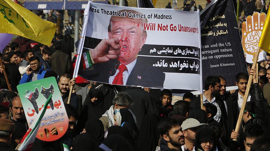 Tehran military displays, rallies mark Islamic Revolution anniversary