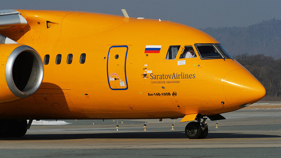 Putin offers condolences to families of those killed in Saratov Airlines crash