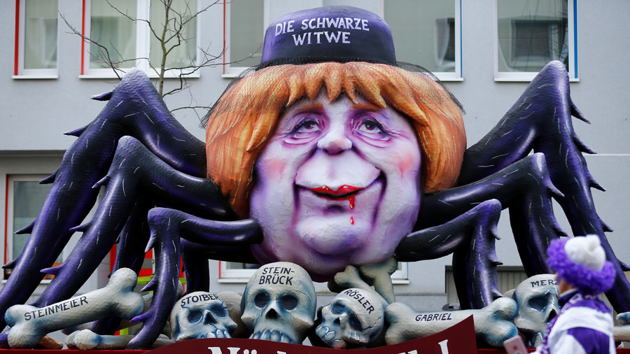Rose Monday: German carnival floats take aim at political leaders (PHOTOS)
