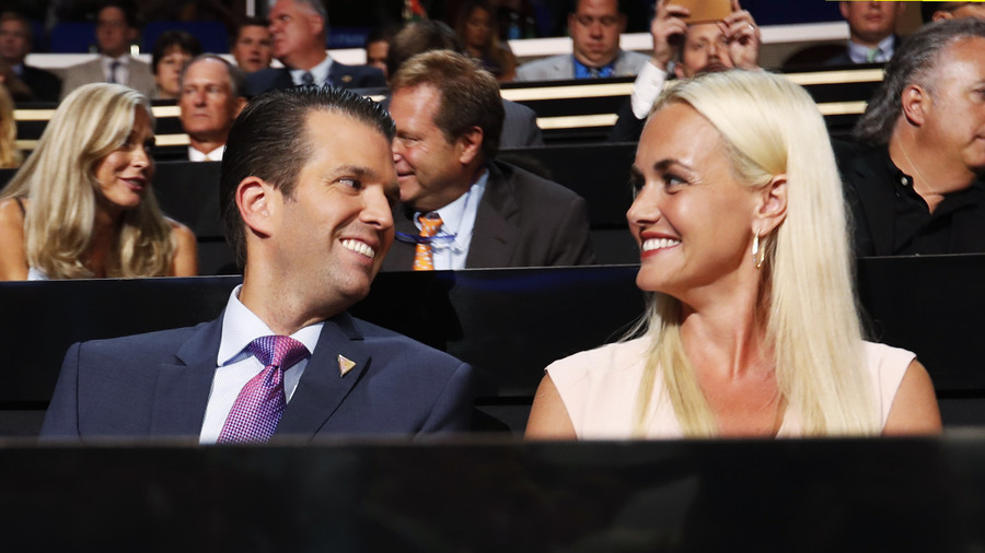 Envelope with 'white powder' sent to Trump Jr's residence, wife in hospital