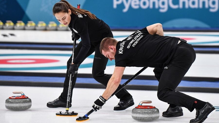 OAR Claim Bronze in Mixed Doubles Curling