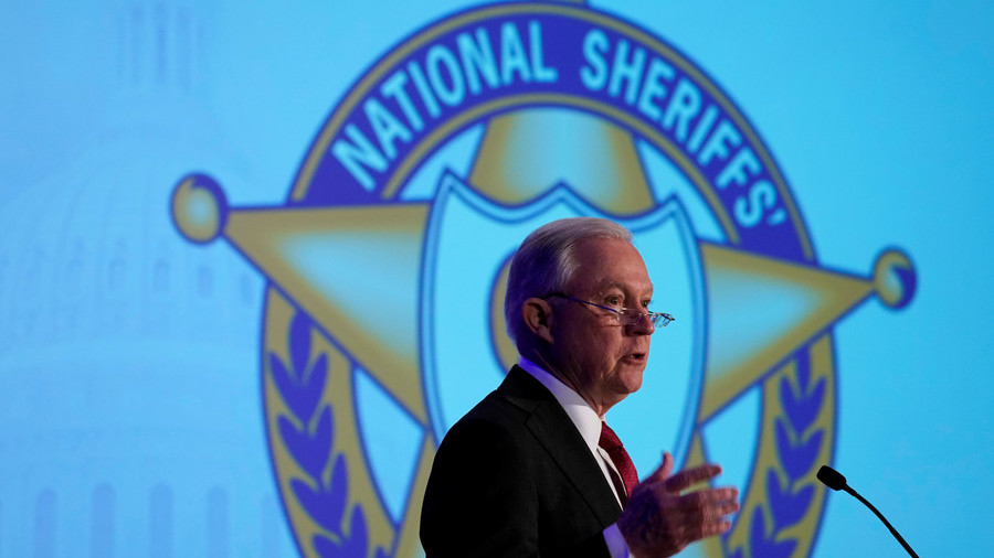 Jeff Sessions: Sheriffs are important part of 'Anglo-American heritage of law enforcement'