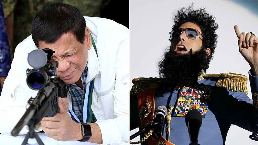 The Dictator or Duterte? Sort Hollywood spoof from quotes by the Philippines leader (QUIZ)
