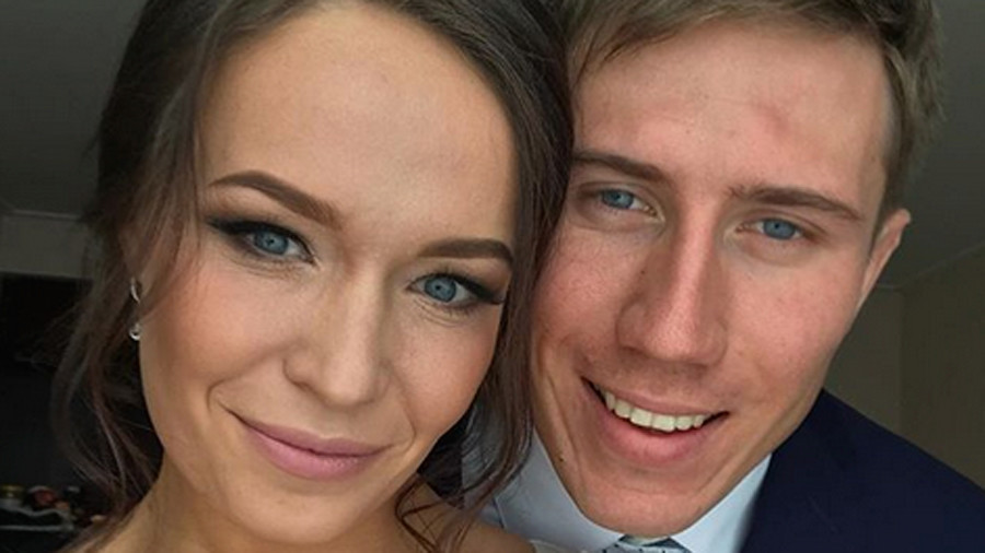 Romantic Russian skier weds bride banned from PyeongChang on Valentine's Day