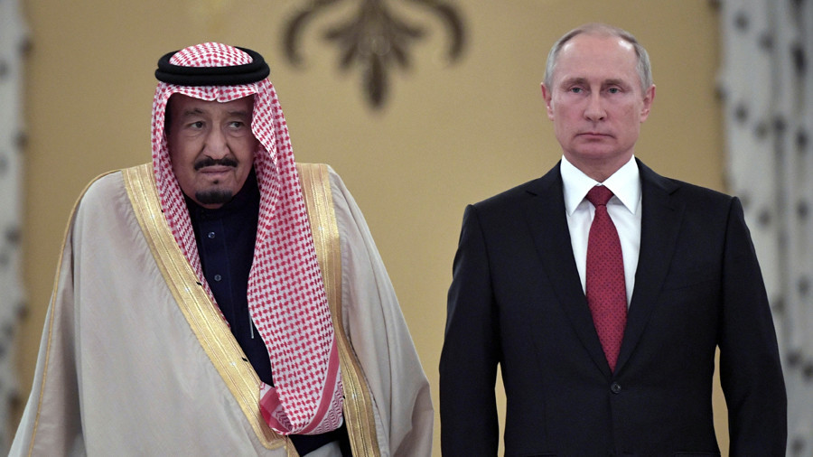Putin & Saudi King Salman discuss Syria, Qatar by phone