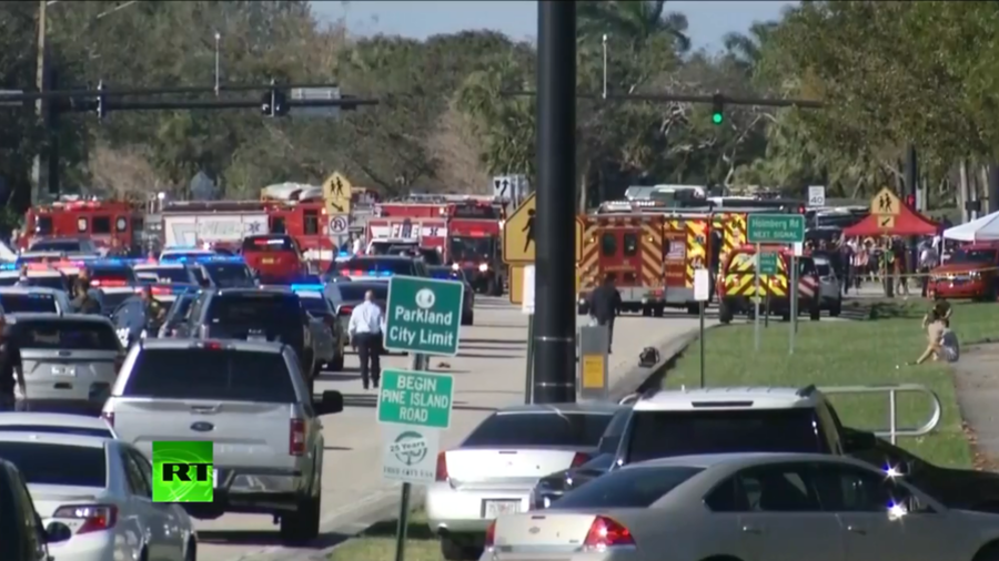 Mass shooting in Florida school leaves at least 14 victims, fatalities reported