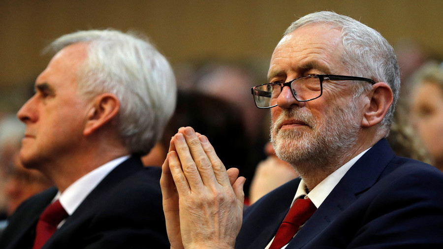 Labour hits back at defence secretary over Corbyn spy claims
