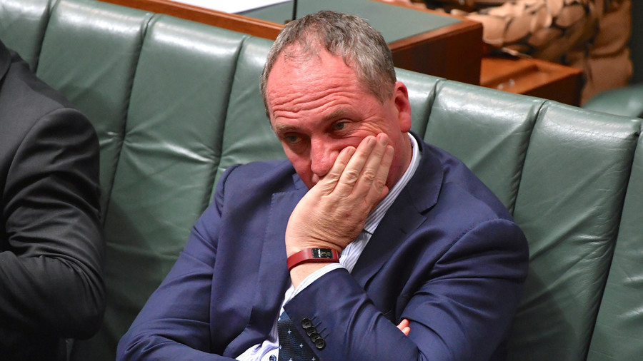 Crisis in Australia Deepens as Joyce Slams Turnbull Over Staffer Affair Comments