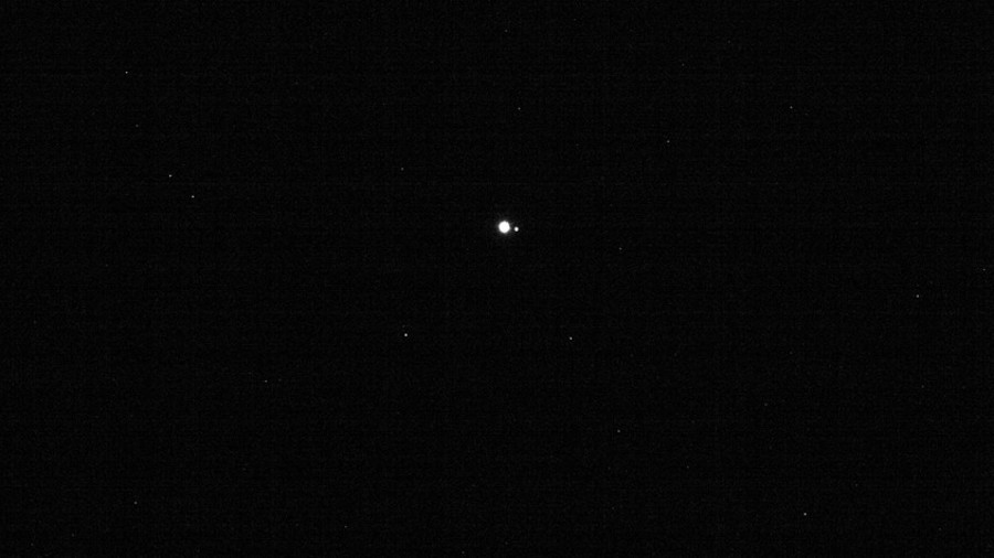Earth from 40mn miles away: Asteroid-hunting spacecraft captures striking image
