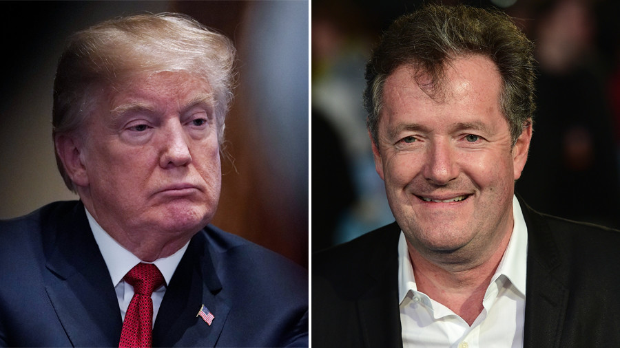 Trump is 'spineless and cowardly' over mass shooting in Florida, Piers Morgan attacks his old friend