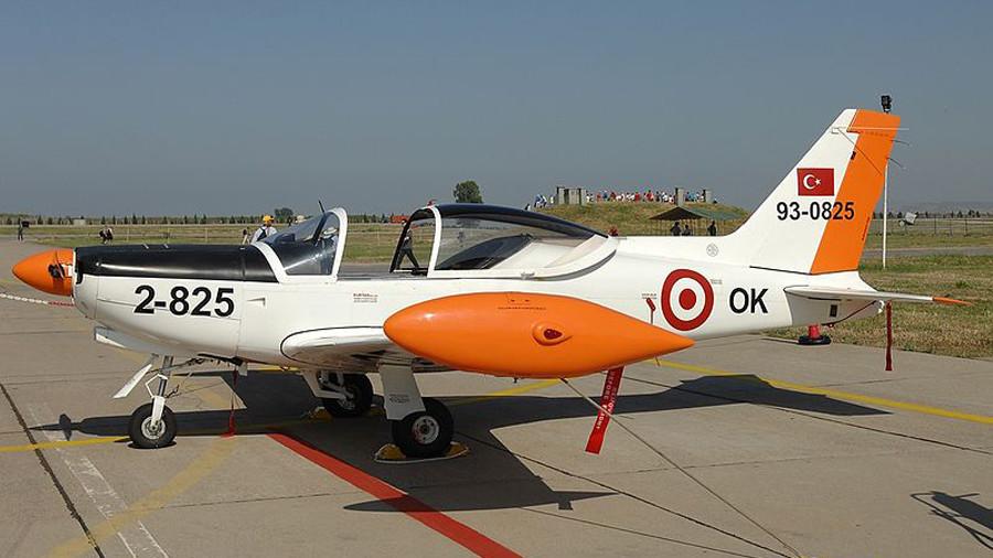 Turkish military training plane crashes in Izmir province, 2 pilots dead