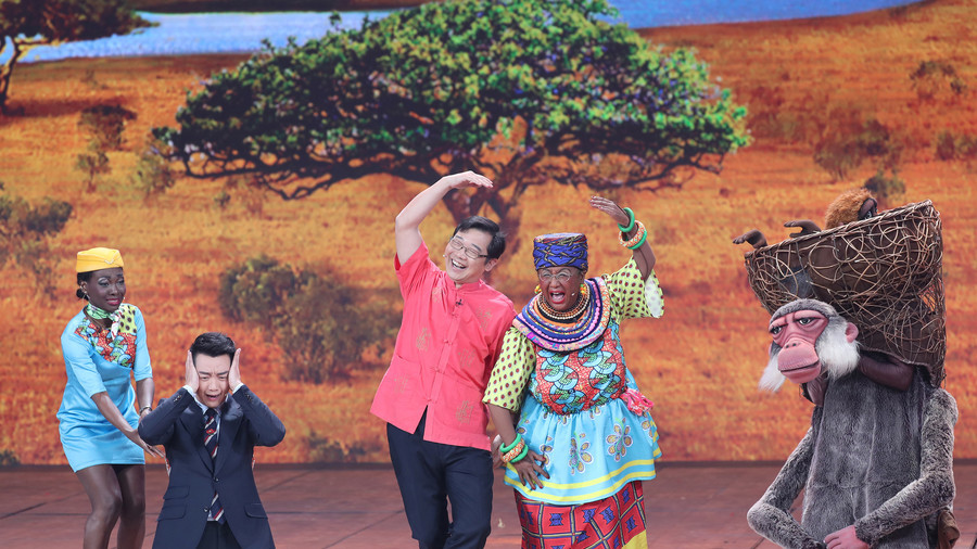 'Racist' Chinese TV show blasted after blackface sketch (VIDEO)