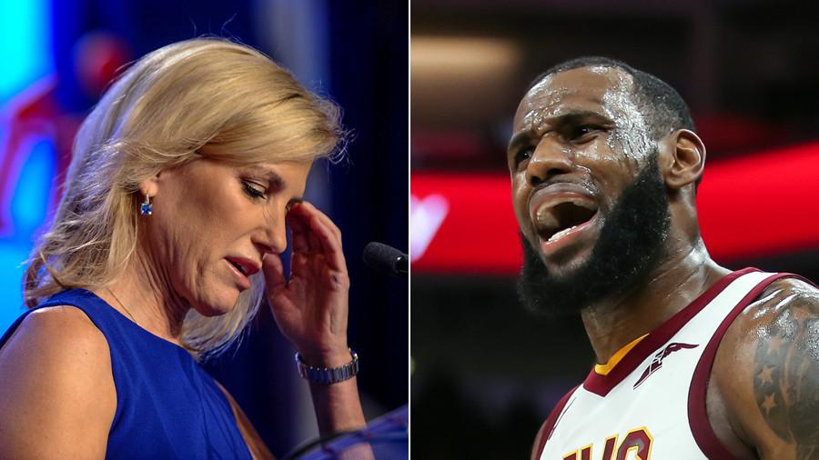 13fb5d87e9d9  Shut up   dribble   Fox News host slams LeBron James for talking politics.