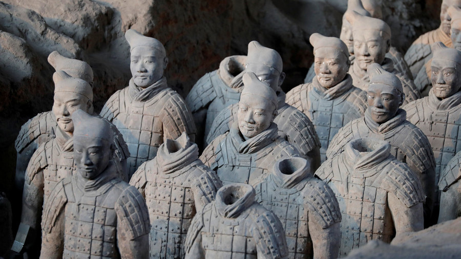 China demands 'severe punishment' for man who stole thumb from terracotta warrior