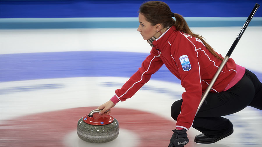 Russian women anna sidorova curling