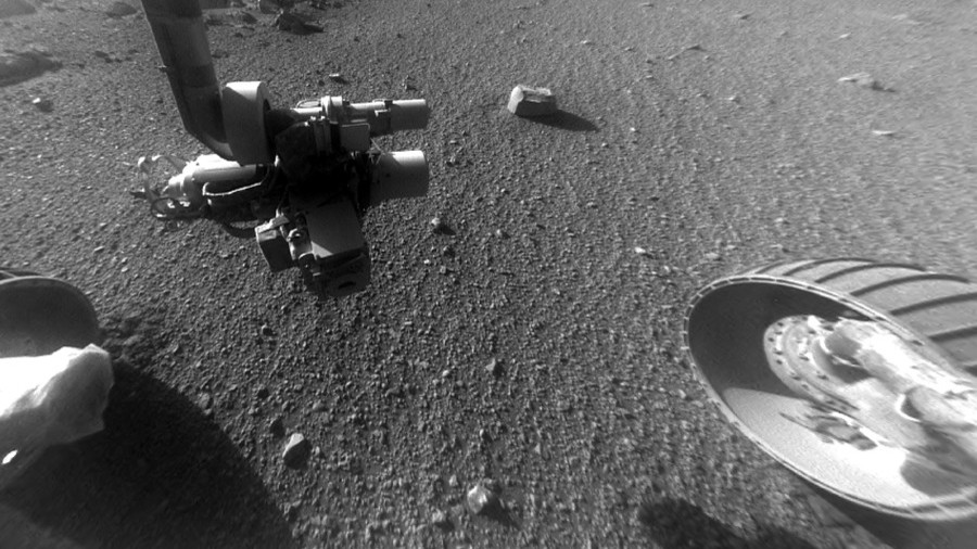 'Mysterious' Martian rocks captured by NASA on Red Planet