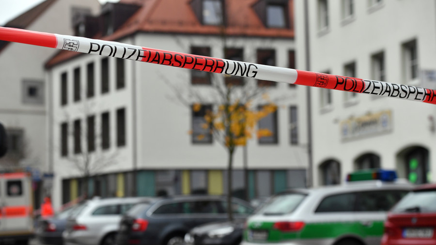 70yo stabs 3 refugees outside German church, released by police