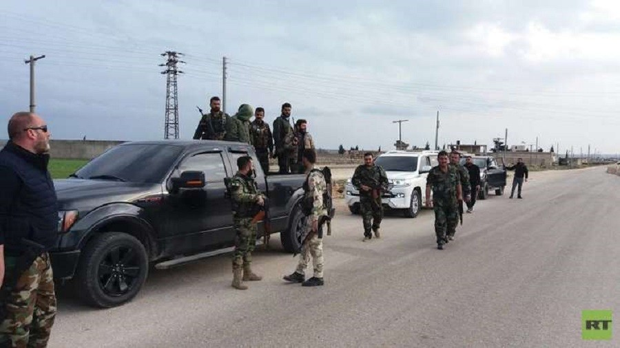 Pro-govt Syrian fighters begin entering Kurdish Afrin despite Turkish threats – Syrian TV (VIDEO)