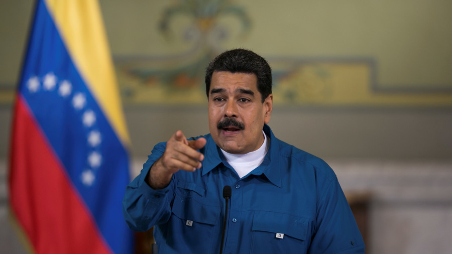 Venezuela's Maduro tweets at Trump offering dialogue