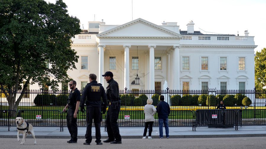 Secret Service Respond to Suspicious Vehicle Near White House