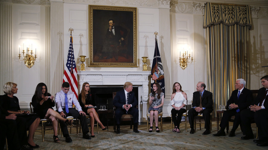 Trump suggests arming teachers & staff could prevent school massacres
