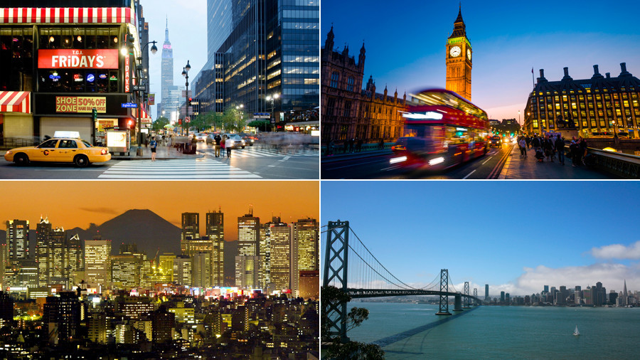 World's 15 richest cities revealed - and the list contains a few surprises