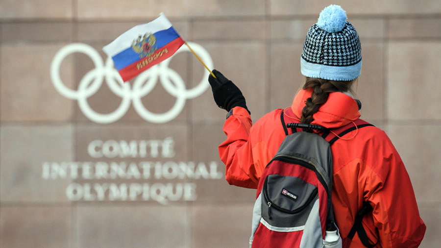 Russian Federation banned from flying national flag at the end of Winter Olympics