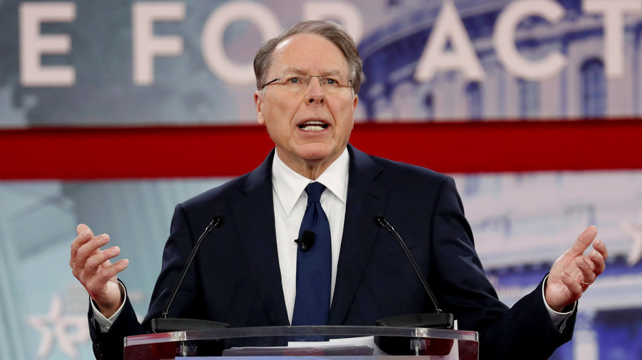 NRA's LaPierre: Why Are NBA Stars Better Protected than Our Children?