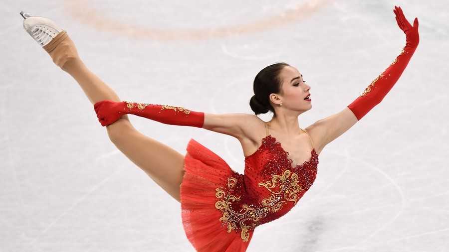 russian figure skater zagitova brings first gold to oar at
