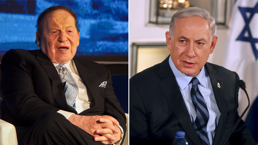 Trump mega-donor Sheldon Adelson may bankroll US embassy's Jerusalem move