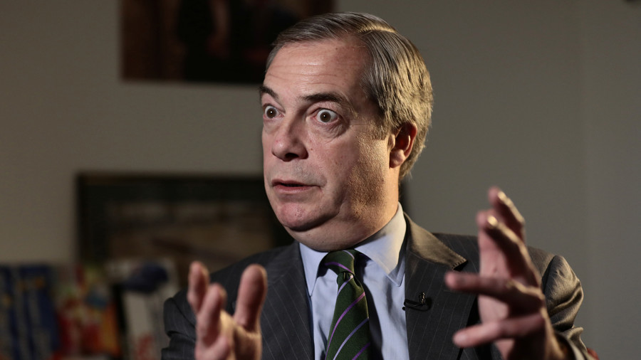 Farage in the USA: 'In the UK, people are beginning to get the Trump message'