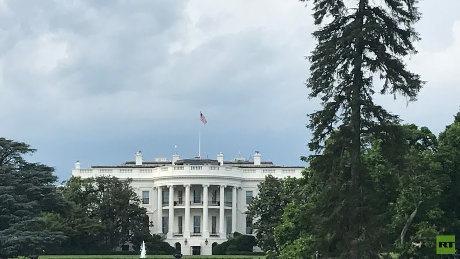 White House Locked Down After Vehicle Rams Barrier