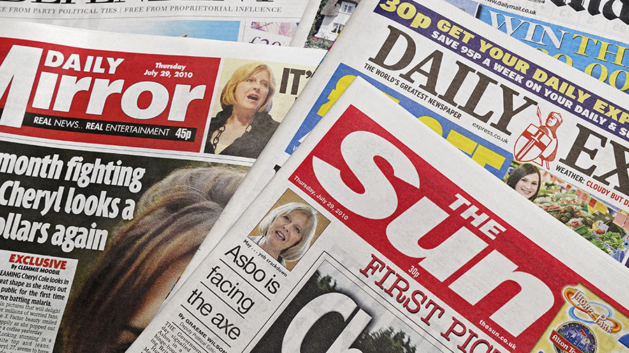 Full front page assault: Here's 5 times Britain's right-wing press went too far