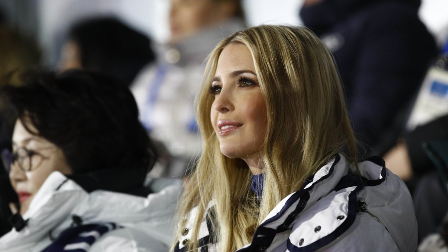 Donald Trump's Daughter Ivanka Attends 2018 Olympics Closing Ceremony