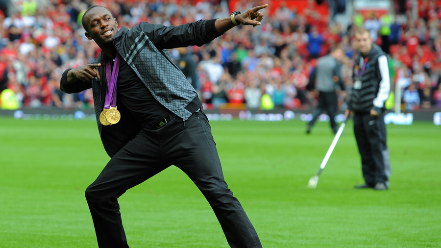 Usain Bolt signs to play at Manchester United's stadium - Unicef Soccer Aid match