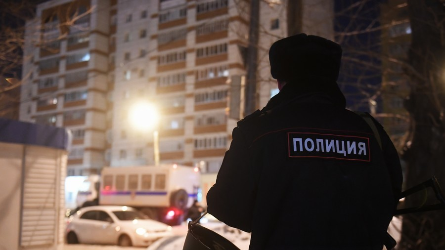 Shootout in Russia's Kazan ends with 1 policeman dead, gunman detained (VIDEO)