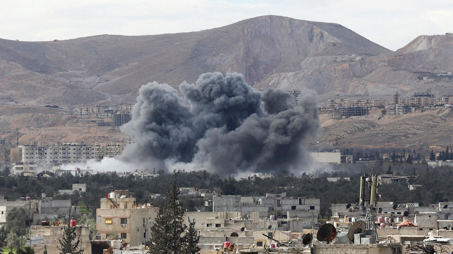 Rebels shell exit corridor in Syria's Ghouta: Russia