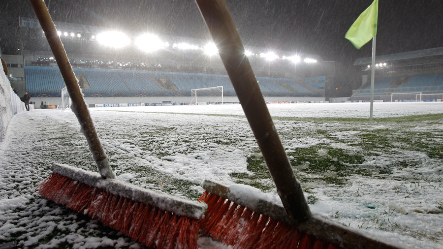 'It's like the Winter Olympics!' 'Beast from the East' batters UK sports fixtures