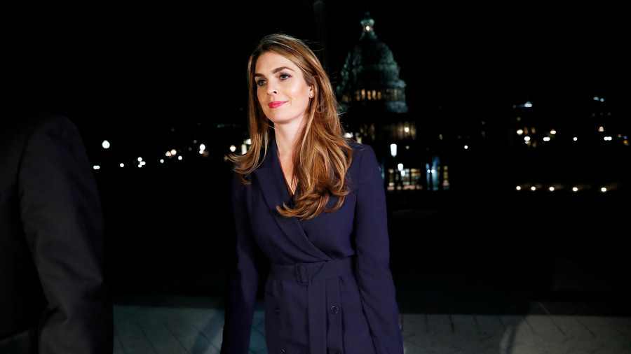 White House comms director Hope Hicks resigning
