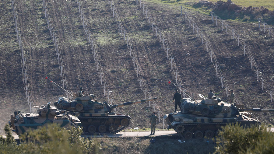 Ankara vows revenge as 7 Turkish soldiers killed in clashes near Syria's Afrin