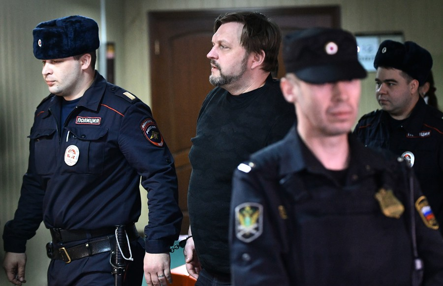 Ex-governor Belykh sentenced to 8 years for large-scale bribery