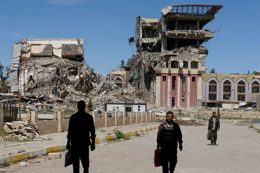 'Ghost town': Residents of 'liberated' Raqqa left to rebuild their ruined city unaided