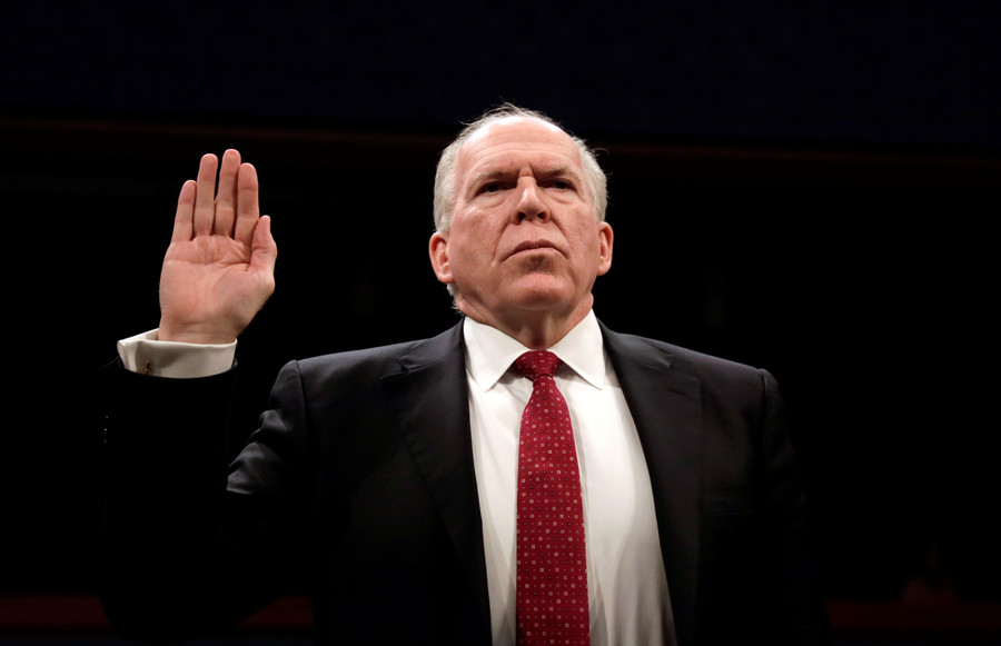 'News directly from the CIA': Ex-director Brennan hired by NBC